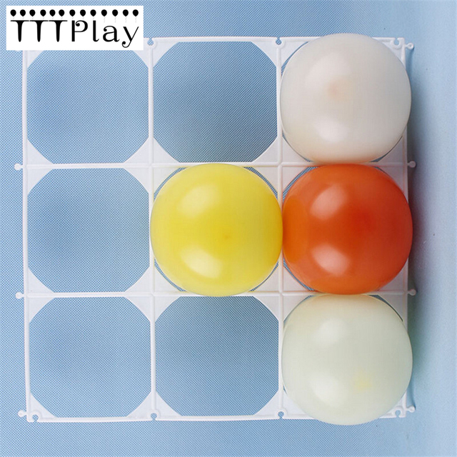 Aliexpress.com : Buy 20pcs/lot Balloon Wall Grids 9 Holes Latex ...