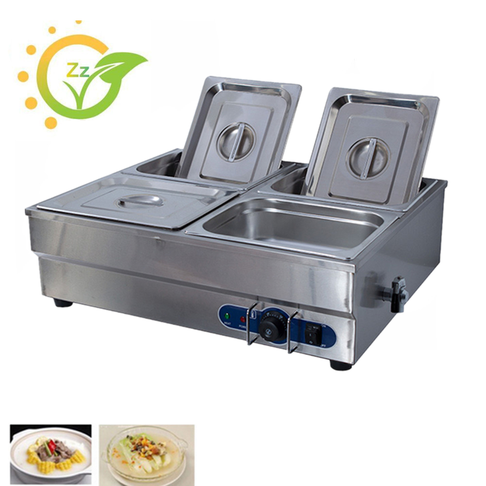 Best Price Electric Bain Marie Food Warmer Commercial Catering Equipment Soup Wet Heat Keep Warmer Machine