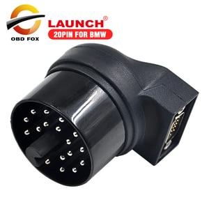 Image 1 - 2017 Лидер продаж 20 контактный разъем для bmw для X431 IV V + launch x431 pad ii pro 3 Бесплатная доставка