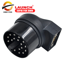 2017 mais vendido 20pin conector para bmw para x431 iv v + lançamento x431 almofada ii pro 3 frete grátis