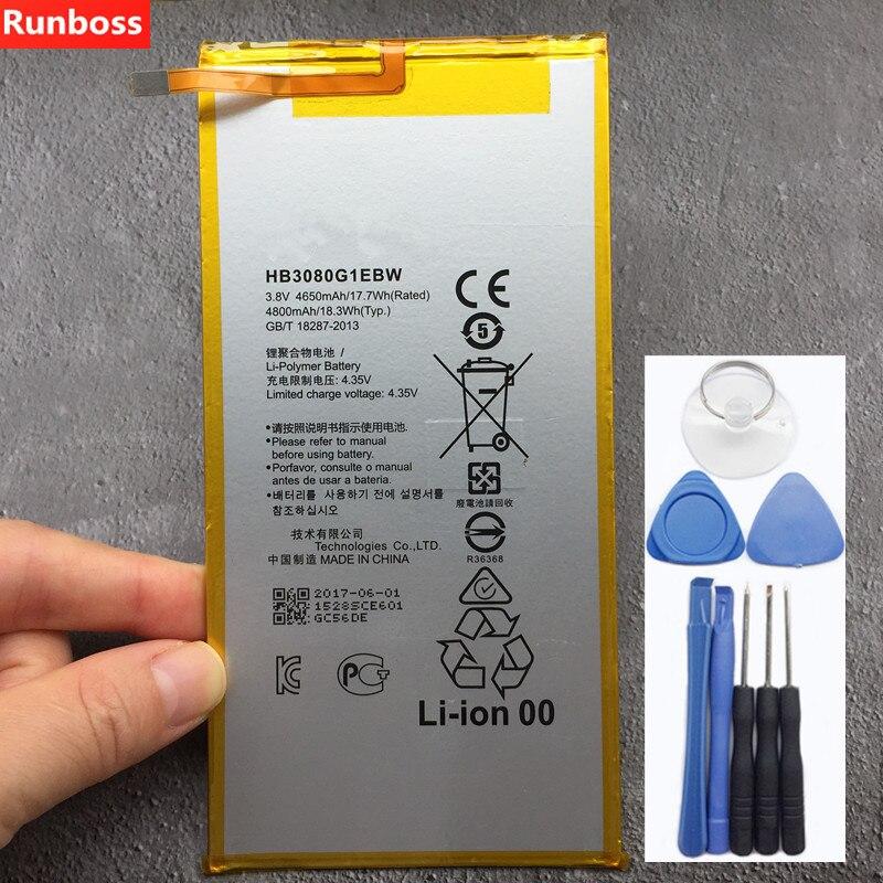 100% New Original 4800mAh HB3080G1EBW For Huawei MediaPad T1 10 Pro / T1-A21 / T1-A21W / T1-A21L / T1-A22L / T1-A23L Battery