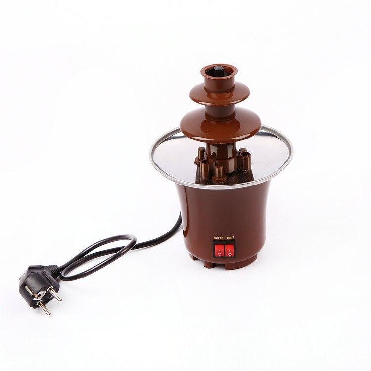 Famille mini 3 triples bonbons fond chocolat fondant machine chocolat pour fontaine cascade fontaine abeille cire fondeur