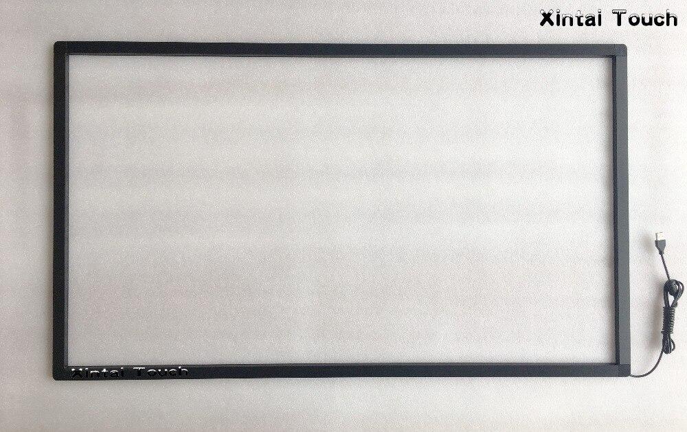 Kit de superposition d'écran tactile IR de 42 pouces pour la publicité et la vitrine 10 Points tactiles cadre tactile infrarouge avec expédition rapide