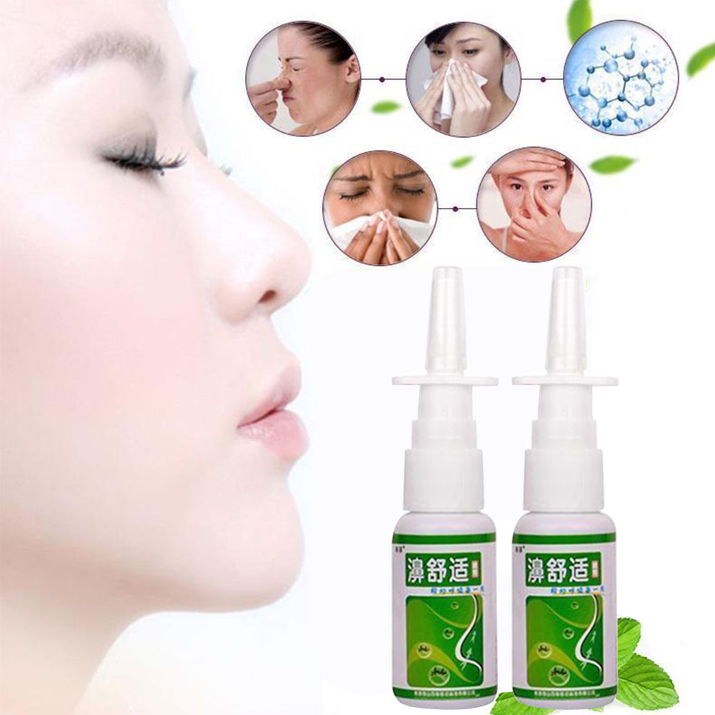 20ml Sinusitis Nasal Rhinitis Chronic Spray Herb Nose Relief Itch Health Care Medical Congestion
