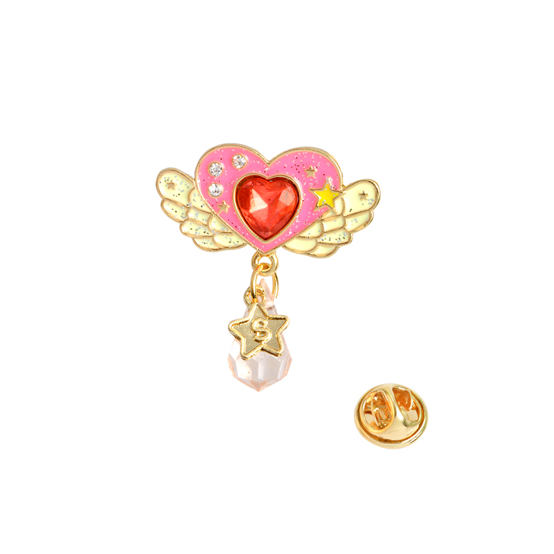 7f9c19731 Detail Feedback Questions about Pink heart moon star cake bow cute pins  Brooches Badges Hard enamel lapel pins Kawaii jewelry Gift for girls on ...