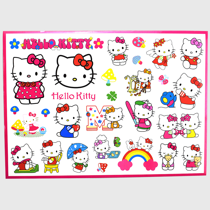 1 Pcs Cartoon Stickers for Skateboard Graffiti Decal Toy Laptop Bicycle Motorcyle Car Stying Doodle DIY Cool Sticker