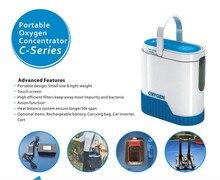 XGREEO новейший 1-5L портативный концентратор кислорода с батареей автомобильный инвертор тележка и сумка для переноски немой кислородный бар кислородный бак