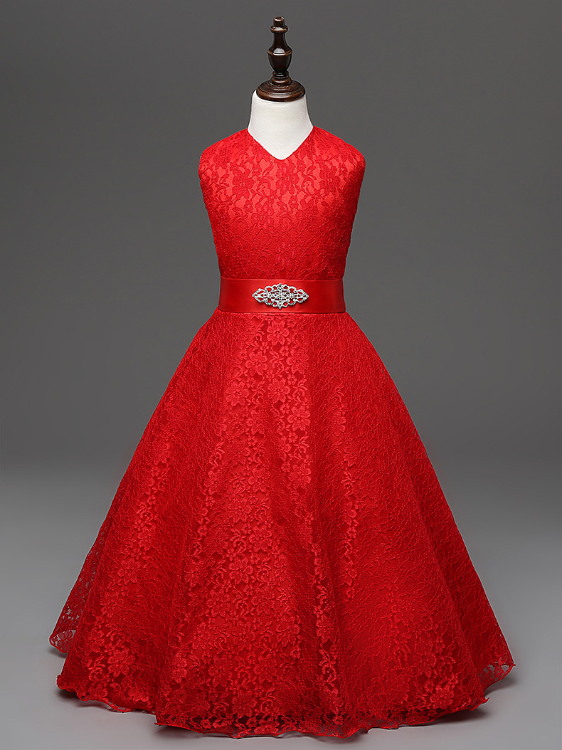 Aliexpress.com : Buy Wedding Kids Party Wear Dress Prom Clothes ...