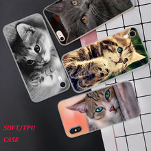 Silicone Case I love cats Printing for iPhone XS XR Max X 8 7 6 6S Plus 5 5S SE Phone Matte Cover