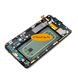 """Image 5 - For Samsung Galaxy S6 Edge Plus LCD G928 G928F Display Touch Screen Assembly Replacement For 5.7"""" SAMSUNG S6 Edge Plus LCD+frame"""