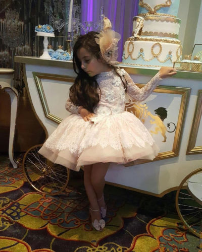 Custom Made Light Pink Flower Girls Dress Kids Short Pageant Ball Show Gown managing projects made simple
