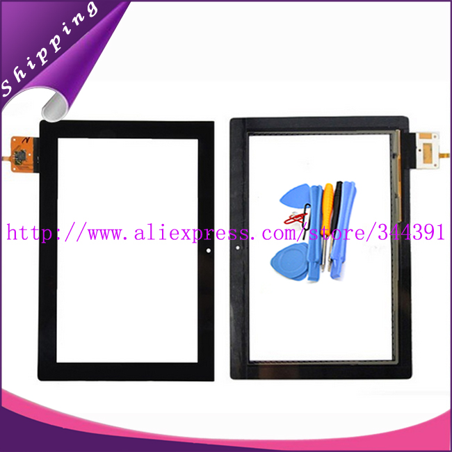 S6000 Touch Panel For Lenovo IdeaTab S6000 Touch Screen Digitizer Front Sensor Glass tools With Tracking