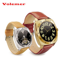 Volemer DM88 Bluetooth4.0 Smart Wristwatch GPS Tracker Heart Rate Monitor Fitness Tracker Sports Life Waterproof For Android IOS