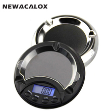NEWACALOX 500g x 0 1g Digital Scales for Food Die Cooking Weights for Kitchen Scale 0