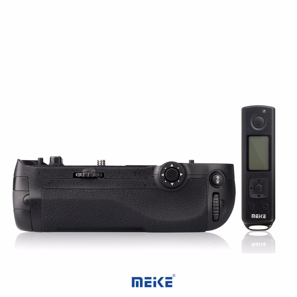 Meike MK-D500 Pro Built-in 2.4GHZ FSK Remote Control Shooting for Nikon D500 MB-D17 meike mk d500 vertical battery grip shooting for nikon d500 camera replacement of mb d17