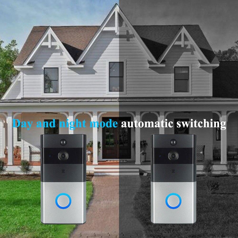 WiFi Video Doorbell Smart Home Alarm Mobile Phone Remote Intercom  SL@88WiFi Video Doorbell Smart Home Alarm Mobile Phone Remote Intercom  SL@88