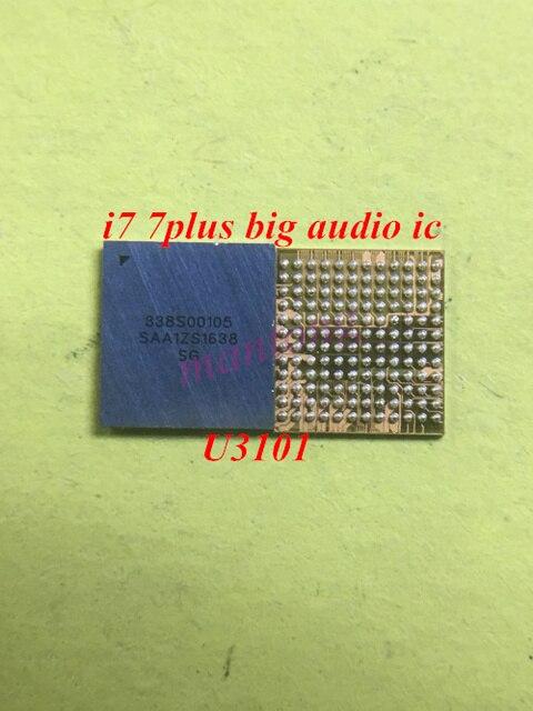 5 шт./лот U3101 338S00105 для iphone 7 7plus big main audio codec ic chip CS42L71