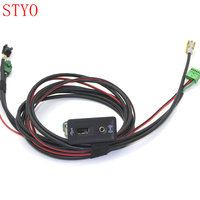STYO VW Carplay Cap Socket MDI USB AMI + Wire/Cable/Harness for VW GOLF 7 MK7 5G0 035 222 E