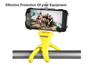Image 3 - Voteer flexible selfie stick monopod wireless Bluetooth tripod monkey holder for GoPro iPhone camera phone car bicycle universal