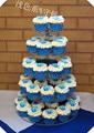 Лучший 5 ярусов круглый  прозрачный  акриловый подставка для свадебного торта для рождества Maypole День рождения подставка для кекса