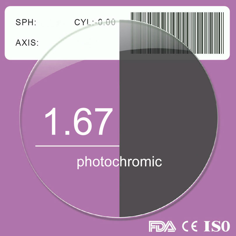 1,67 Photochrome Myopie Sonnenbrille Objektiv-in Accessoires aus Kleidungaccessoires bei AliExpress - 11.11_Doppel-11Tag der Singles 1