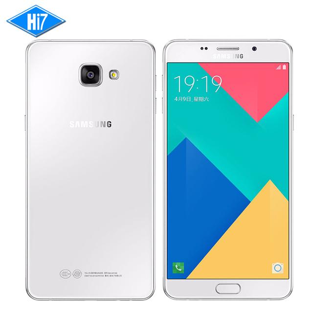 "New Original Samsung Galaxy A9 A9100 4G RAM 32G ROM Unlocked Mobile Phone 6.0"" 16.0MP 5000mAh 4G LTE Fingerprint Smartphone"