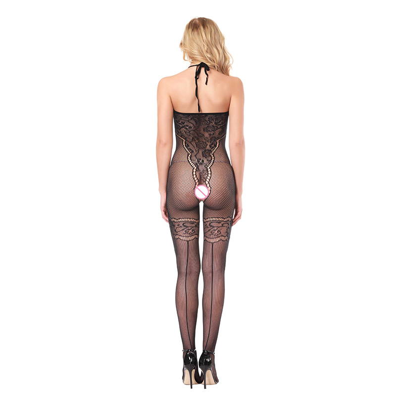 Hot Sexy Womens Bare Shoulder Lingerie Bodystocking Female Baby Doll Underwear Erotic Lingerie Elastic Costumes Plus Size