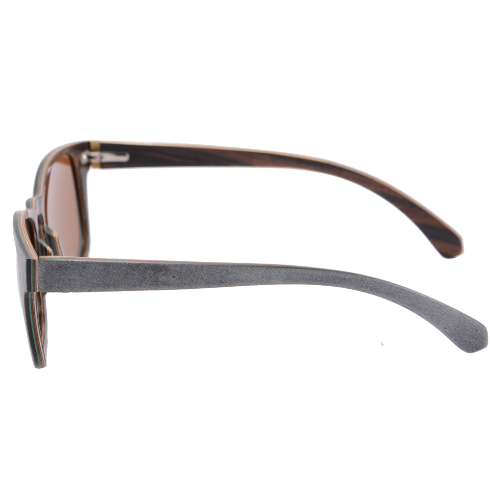 Fashion Md004 Qualität Box Polarisierte Hohe Handgemachten Fall Uv400 c2 Skateboard Sonnenbrille With c2 C1 Holz Brillen Mit XPAdxa
