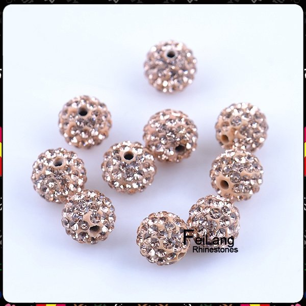 Pack Rapid Heat Dissipation Beads & Jewelry Making Jewelry & Accessories 10mm Blue Zircon Ab Top Quality Czech Crystal Rhinestones Pave Clay Round Disco Ball Spacer Beads For Jewelry 50pcs