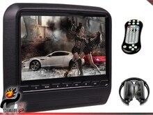 9 Inch Car Headrest Bracket Tablet LCD Monitor DVD Player FM IR Headphone SD USB