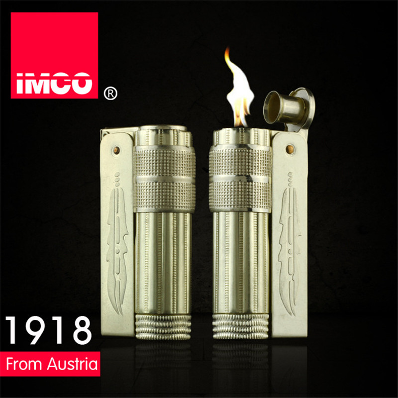 Image 3 - Classical Genuine IMCO Petrol Lighter General Lighter Original Copper Oil Gasoline Cigarette Gas Lighter Cigar Fire Pure Copper-in Cigarette Accessories from Home & Garden