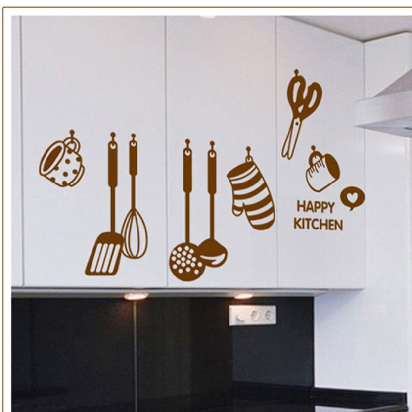 New Design Wall Sticker Creative Diy Wall Stickers Kitchen Decal
