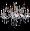 Хрустальная люстра для гостиной в стиле деко  современные люстры в пентхаусе  12-15 ламп  Подвесная лампа для виллы  домашний светодиодный пот...