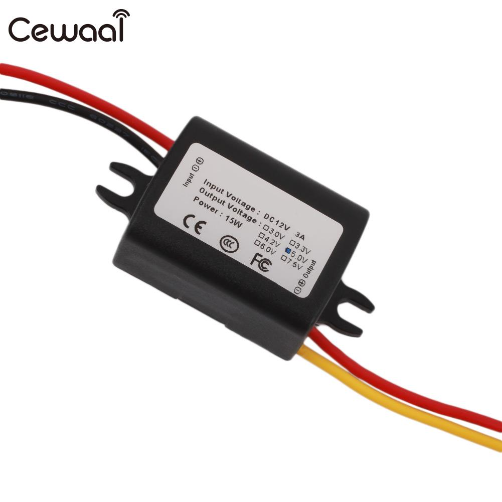 12V To 5V/9V Step Down Transformer Volt Regulator Inverter Car DC Converter Transformer DC-DC