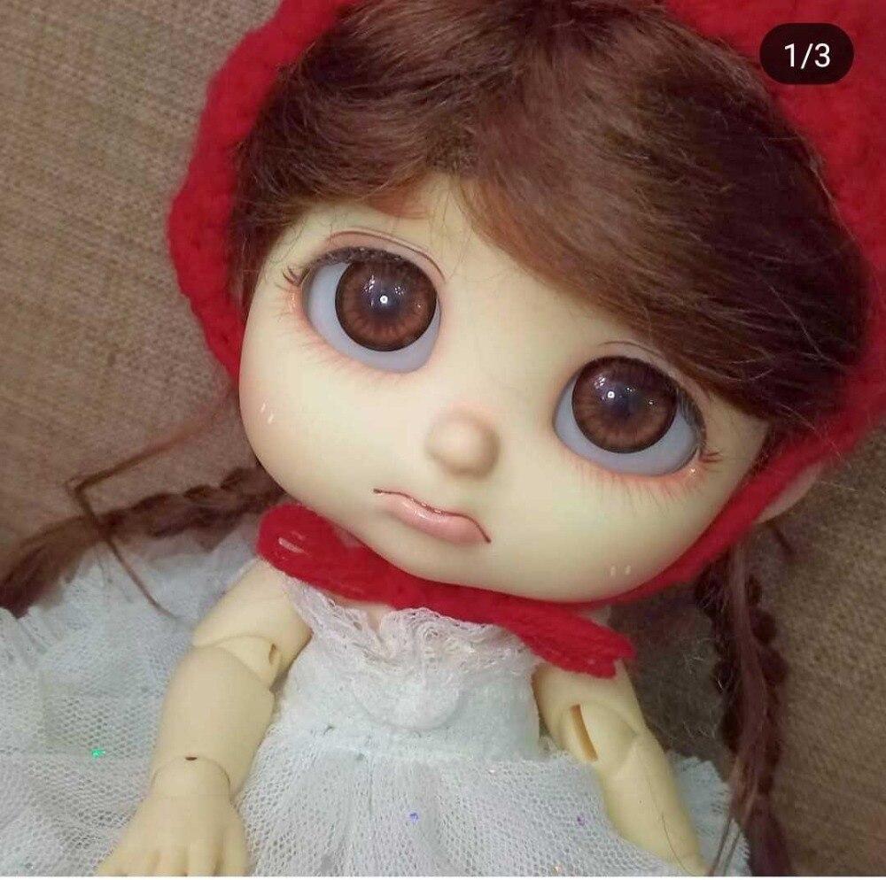 BJD 1 8 doll sleep baby fashion doll