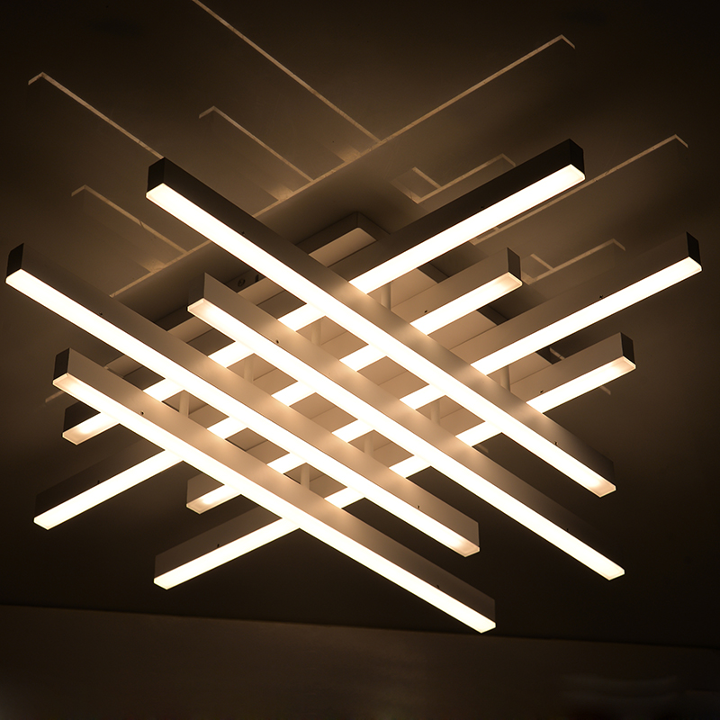 HTB1PmdlXjihSKJjy0Ffq6zGzFXaS Modern LED Ceiling Lights with Remote Control Nordic Home Decor White Black Hanging Ceiling Lamps For Dining Room Corridor Loft