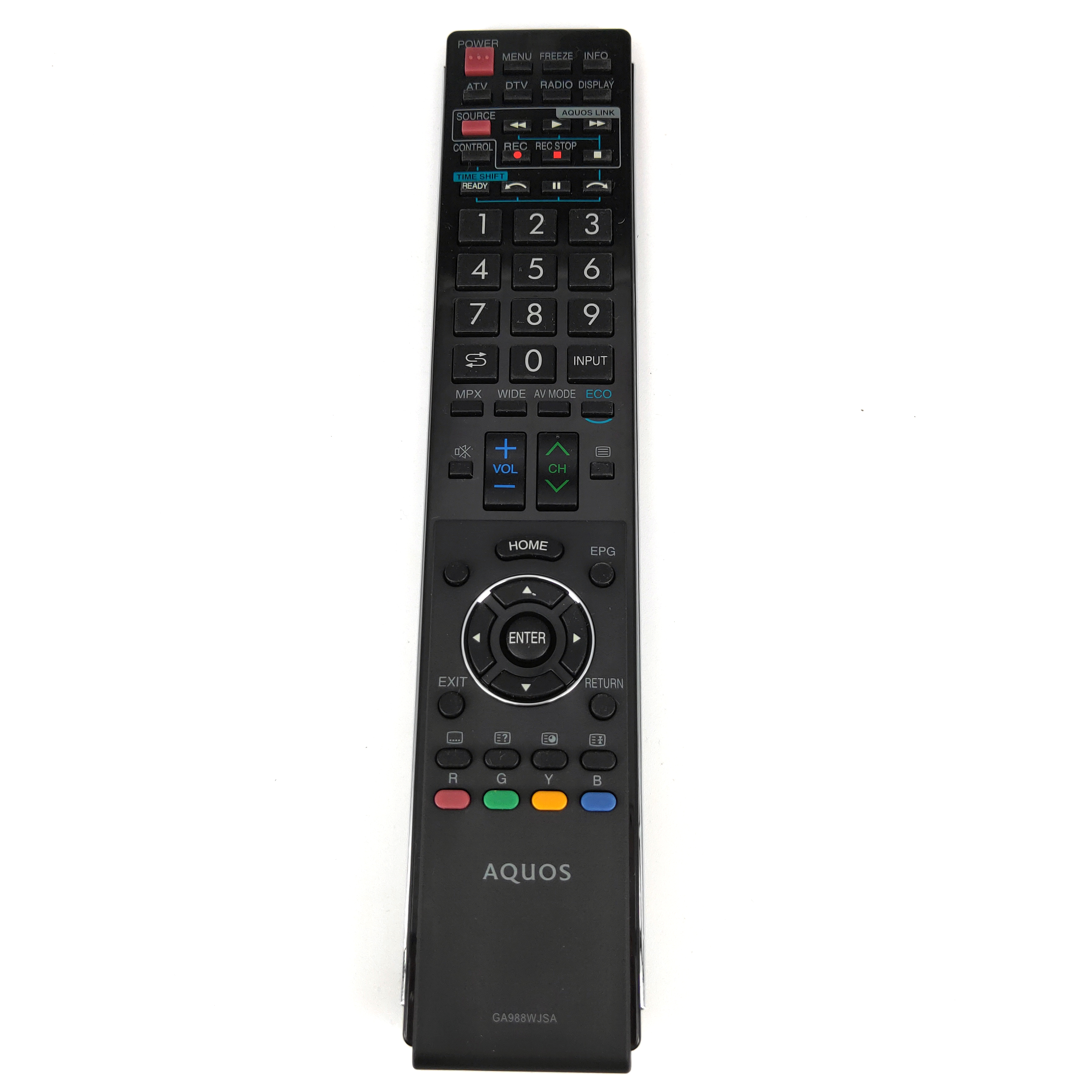 NEW Original for SHARP Aquos TV Remote Control GA988WJSA RRMCGA988WJSA for LC70LE735X LC 70LE735X Fernbedienung in Remote Controls from Consumer Electronics