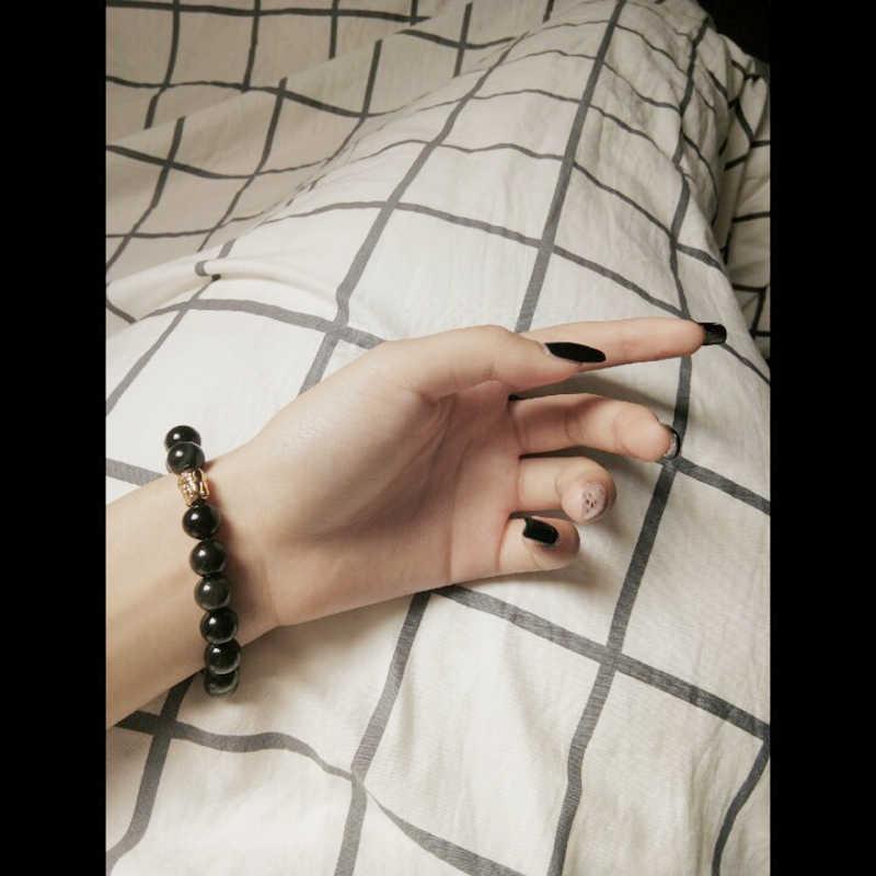 Очаровательный браслет/для женщин/золото/пара/Мужчины/браслеты для женщин браслет из натурального камня с бусинами мужские ювелирные изделия мужские браслеты 2019