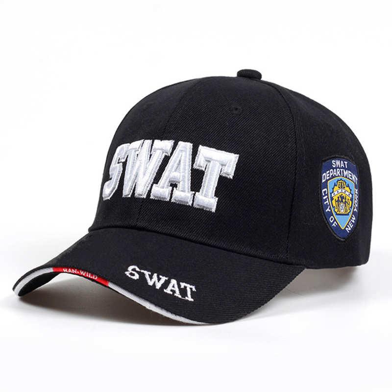 2019 Tactical Cap Mens Baseball Caps Brand SWAT Cap SWAT Hat Snapback Caps Cotton Adjustable Golf Hat Gorras Planas High Quality