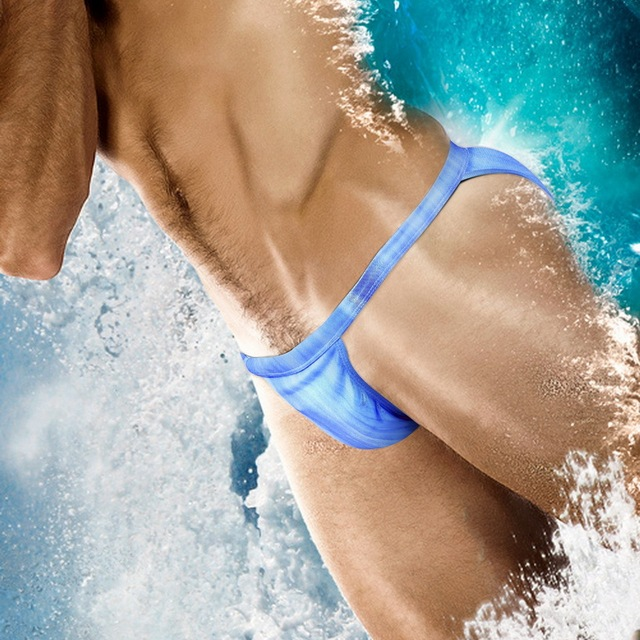 7d5ecb873d New Arrive Push Up Pad Men Swimsuit Bikini Mens Swim Briefs Gay Swimwear  Swimming Trunk Surf