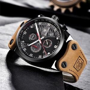 Image 4 - BENYAR New 30M Waterproof Outdoor Hollow Sports Chronograph Watch Skeleton Calendar Mens Quartz Wrist Watches Relogio Masculino