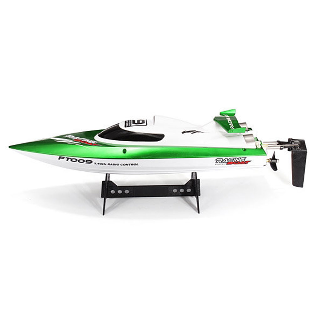 FT009 2.4G 30km/h Speed RC Racing Boat With Water Cooling Self-righting System aluminum water cool flange fits 26 29cc qj zenoah rcmk cy gas engine for rc boat