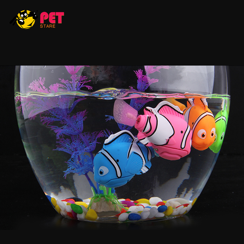 Aquarium Decoration Nemo Robotic Swimming Fish Artificial Robot Fish