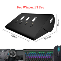 For Winbox P1 Pro PS4 Keyboard & Mouse Converter for PS4 for XBOX X1 for Nintend SWITCH Game Console Adapter Built in Headset