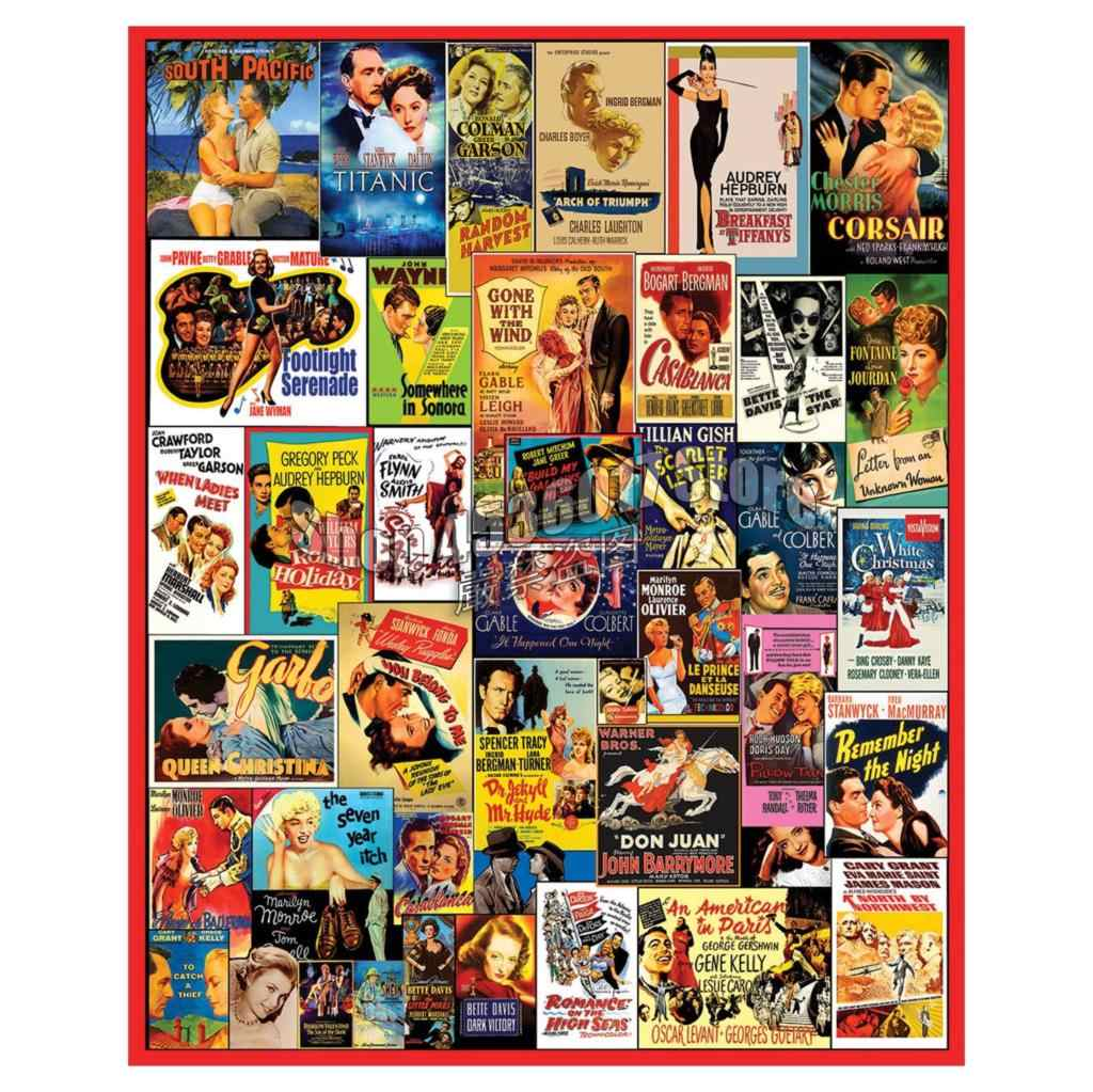 5D Square Diamond Painting Movie Posters Cross Stitch Kit Picture For Diamond Embroidery Vintage & Nostalgia Diy Diamond Mosaic