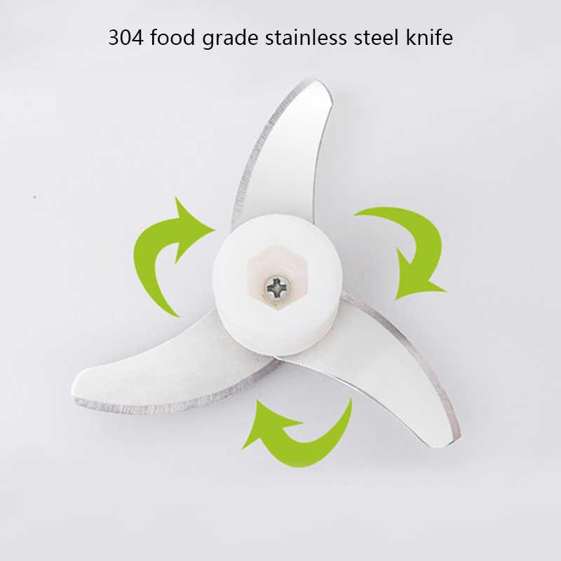 Ręcznie mocy urządzenie do siekania żywności ręczne maszynki do mielenia mięsa 500 ML Mincer mikser kuchnia Speedy owoców rozdrabniacz warzyw Choppers