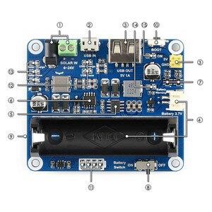 Image 4 - פנל סולארי אספקת חשמל לוח ניהול מודול ליתיום סוללה 6V 24V שמש טעינת מוסדר מטען MPPT USB כוח מתאם