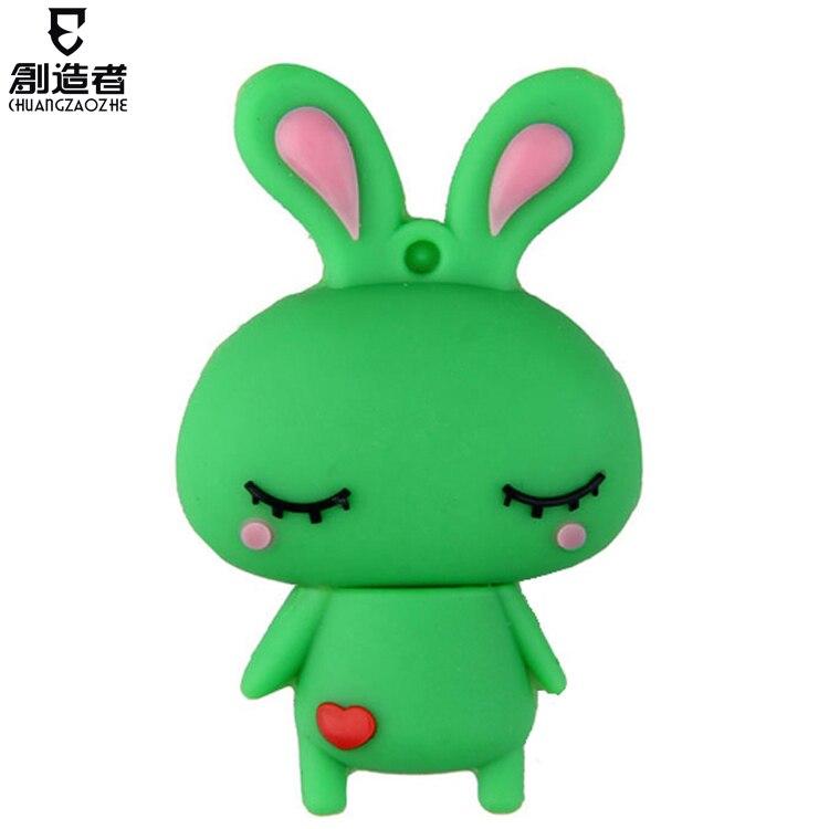 Usb flash drive 4g capitellum rabbit cartoon usb flash drive personalized usb flash drive usb flash drive gift
