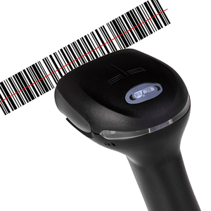 Image 3 - NETUM NT 2012 Portable USB Barcode Scanner Wired Laser 1D Bar Code Reader for POS and Inventory