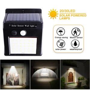 4pcs LED Solar Light Human Bod